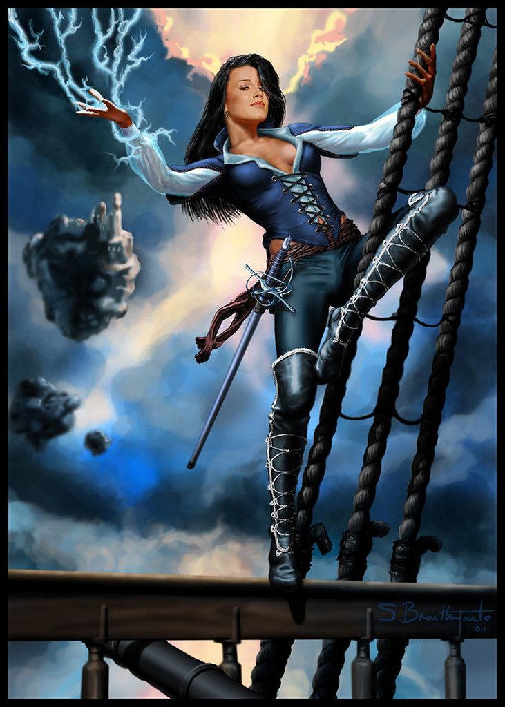Fenish Primm, The Lightning Pirate