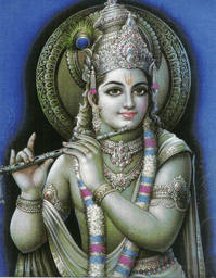 Krishna the Ebon Prince