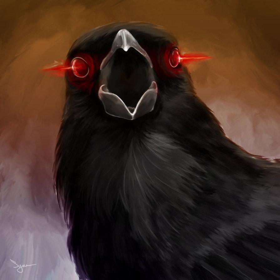 Gore-crow