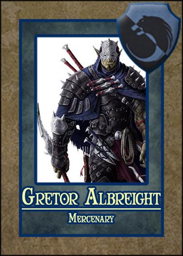 Gretor Albreight
