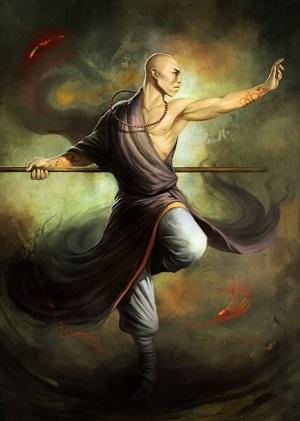 Feng, Jojai - Shaolin Monk