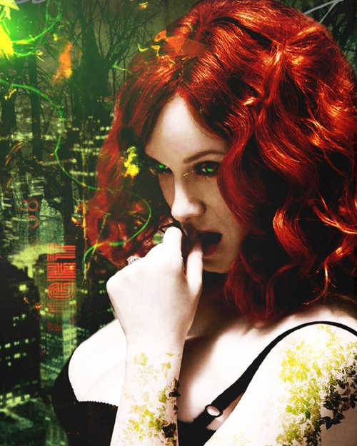 "Pamela Lillian Isley - ""Poison Ivy"""