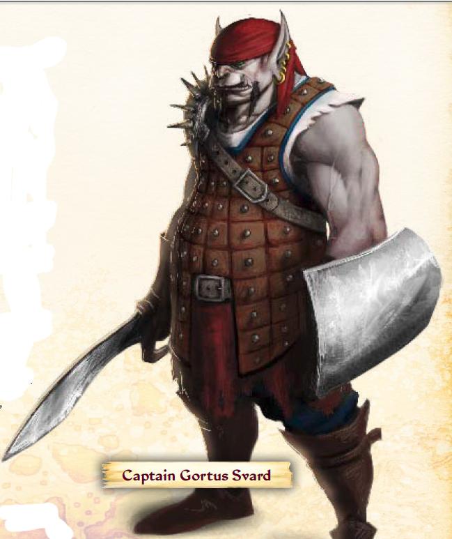 Captain Gortus Svard