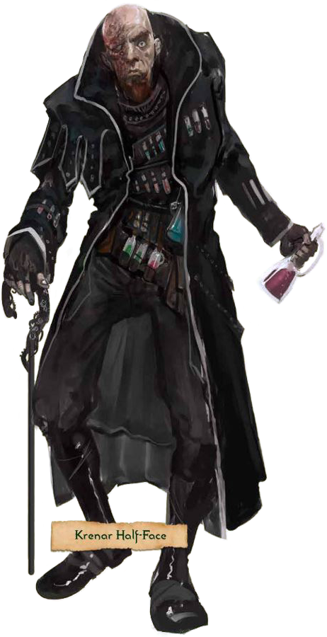 Krenar Half-Face