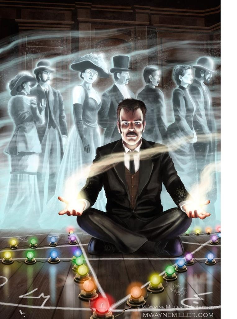 Karnacki, The Ghost-Taker
