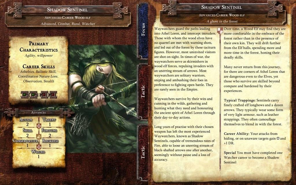 Shadow Sentinel Career Card