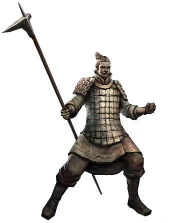 Ghost, Terracotta Warrior