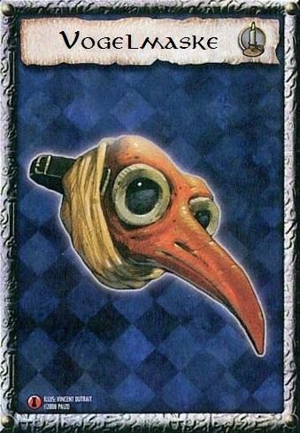 Maske des Seuchenbringers