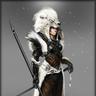 Albino Vabic Cloak