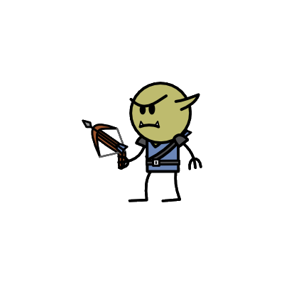 Monster- Goblin Sharpshooter (02)
