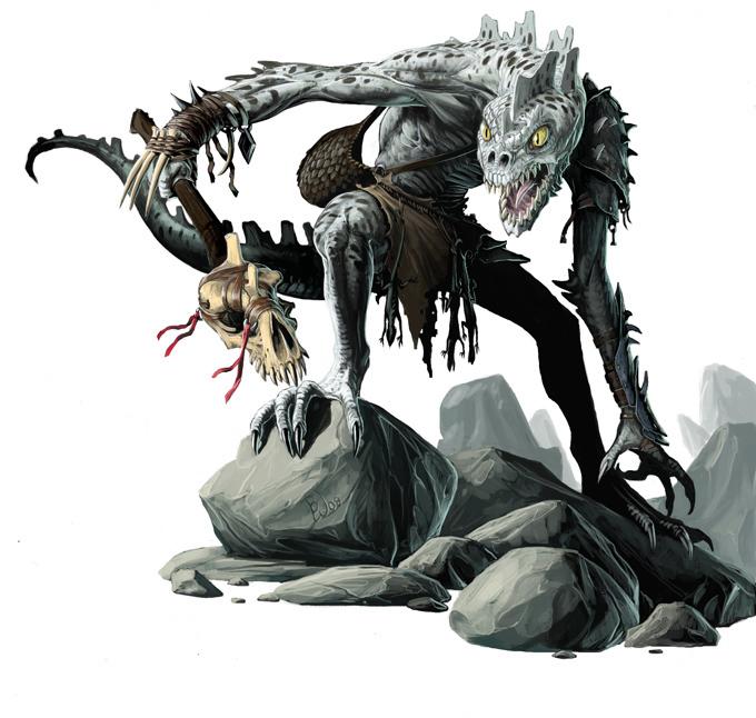 Children of Dagon (Troglodyte)