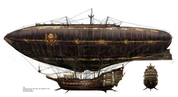 Skyship of Xin