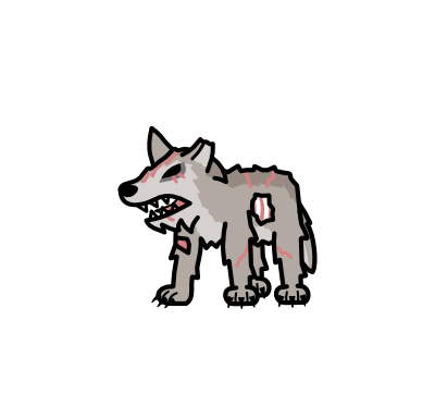Monster- Zombie Gravehound (03)