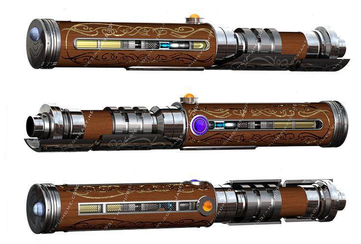 Ryyhash's Lightsaber
