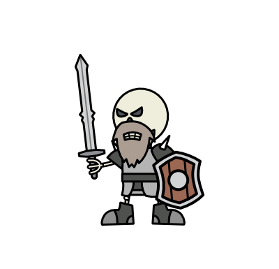 Monster- Skeleton Warrior (03)