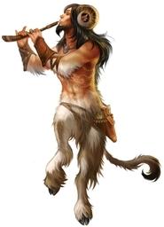 Falchos the Satyr