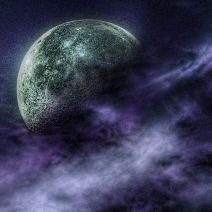 The Priestess of the Moon:
