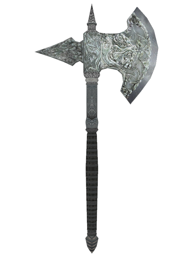 Metalline Battleaxe