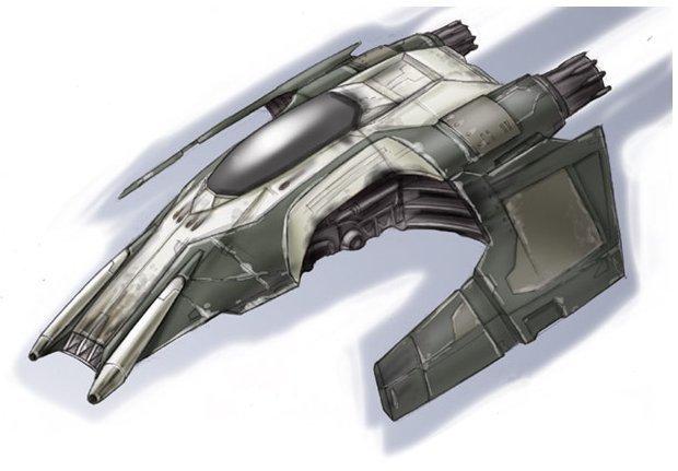 Cutlass-9 Starfighter