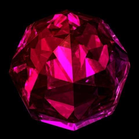 Glowing Gem