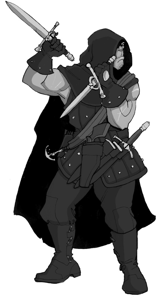 "Glint ""the Axe"" Red (Half-Orc Slayer)"
