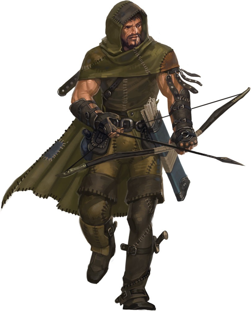 Ezra Two-leaf (Half-elf Warden)