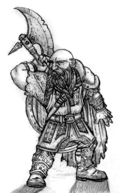 (RIP) Dorin Thomar (Dwarf Fighter)