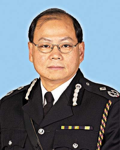 Chief Inspector Norman Lung