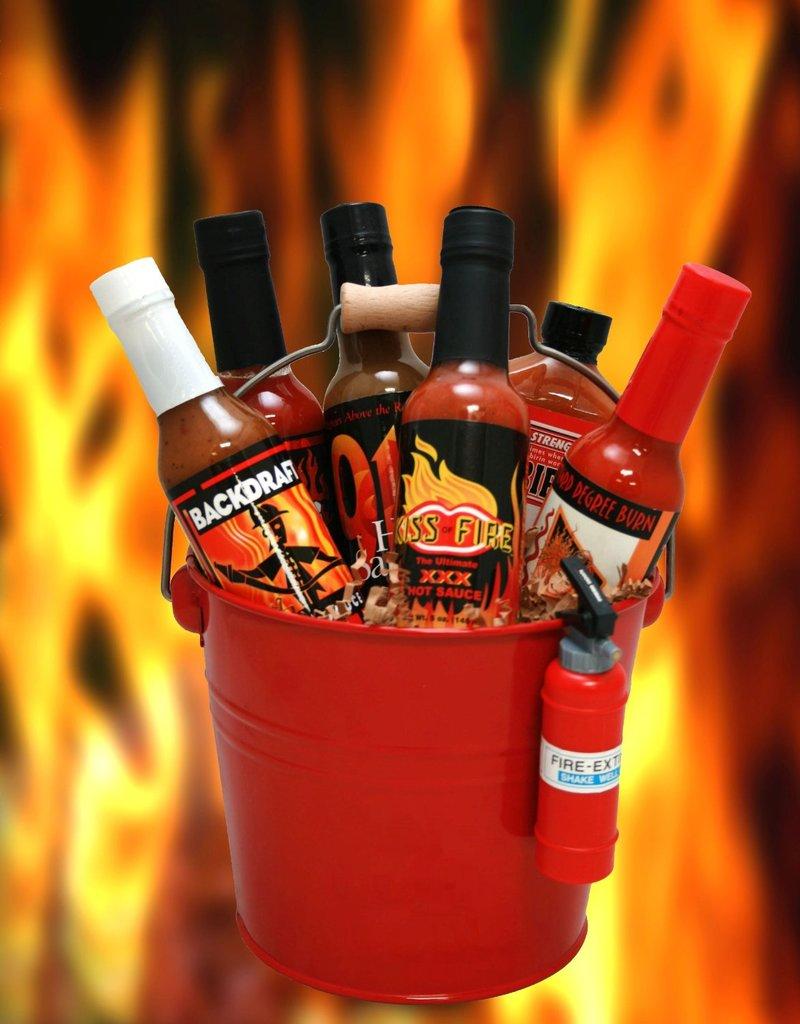 Bucket of Hot Sauce