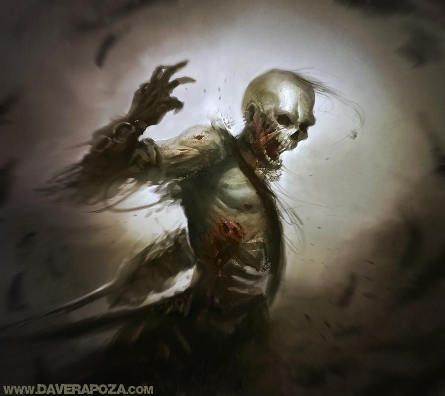 Undead - Celestial Cloud Temple Bone Guardian