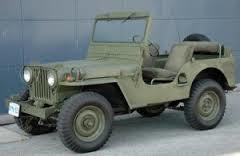 Surplus Red Army Jeep