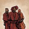 Inquisitor-Acolytes Primaris, Secundus, and Joe