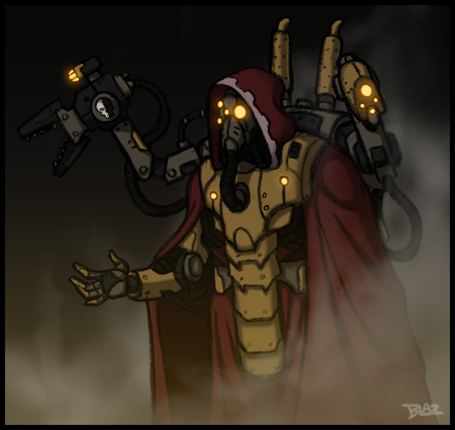 Tech-Priest Elia Laz'gos