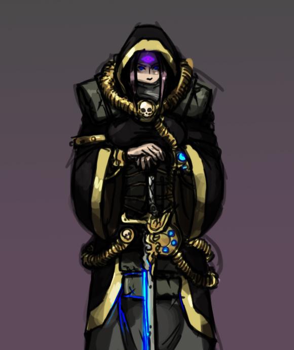 Imperial Psyker Liandra