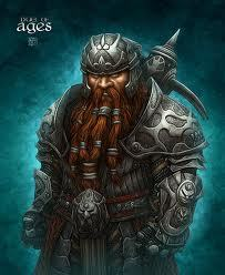 Kaza Firestone (Dwarf Fighter)