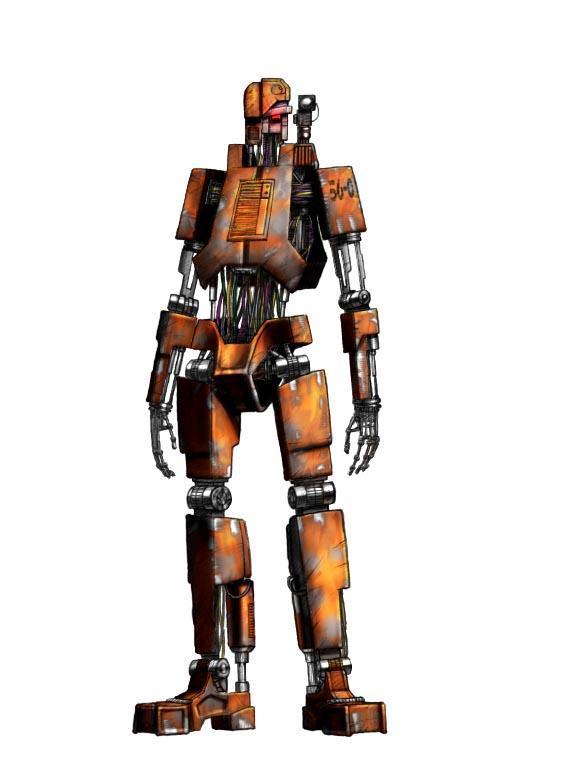 "HK-series: T-400 ""Clanker"""