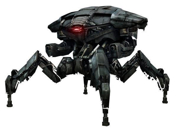 """HK-series: T-7T """"Tetrapod"""""""