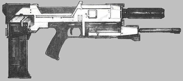 Westinghouse M-27 phased plasma pulse rifle