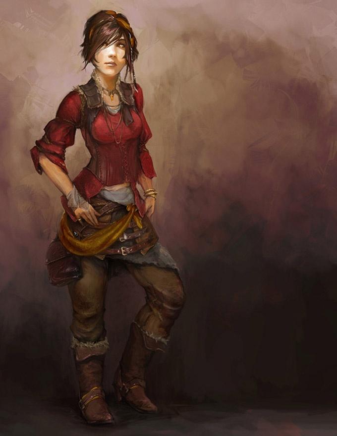 Cora Greenleaf (Halfling)