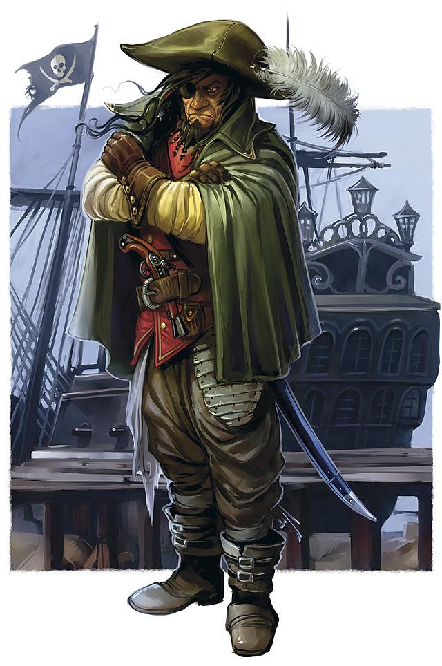 Captain Drako Valardin