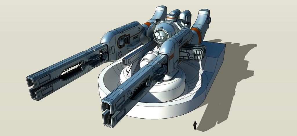 Ship Railgun