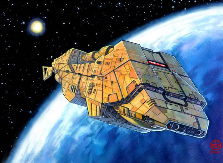 Action V heavy freighter