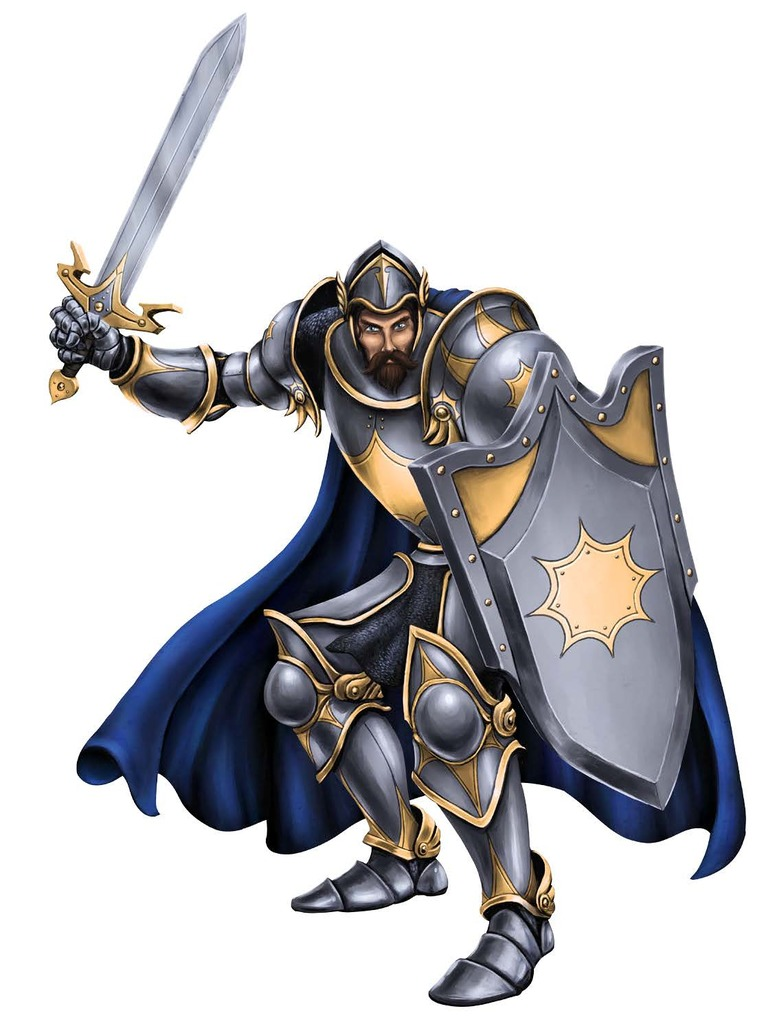 The Paladin, Richard Thomasson Havelyn [Deceased]