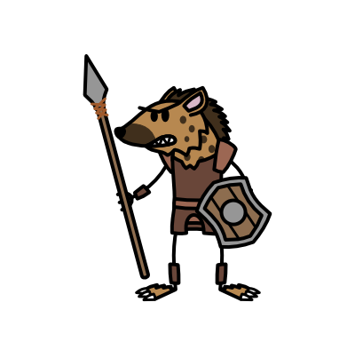 Monster- Gnoll Marauder (06)