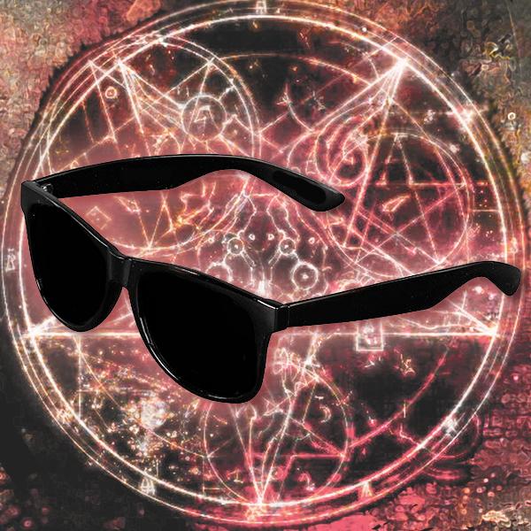 Geuns Black Glasses
