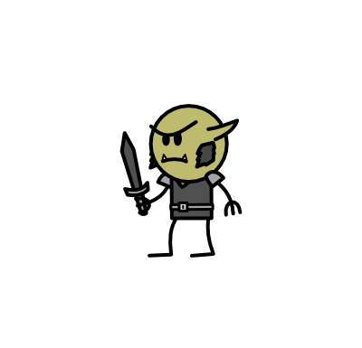 Monster- Goblin Blackblade (01)