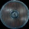 +1 Medium Round Shield
