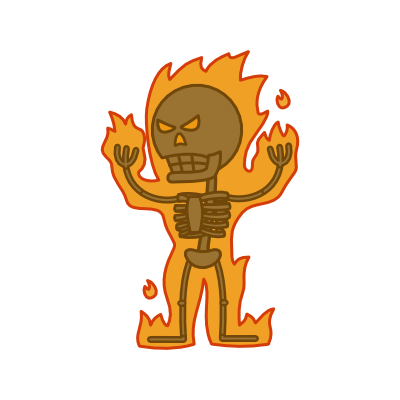 Monster- Skeleton Cinder (02)