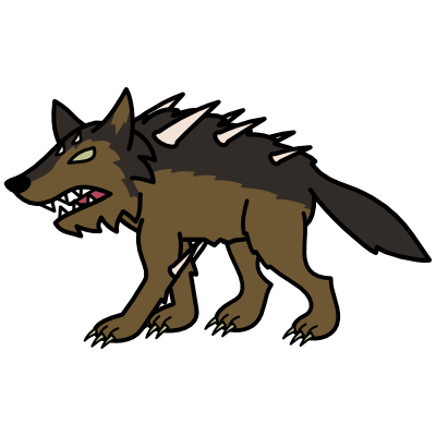 Monster- Wolf Dire (05)