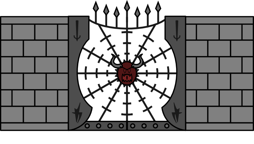 Trap- Spiked Gate Trap (02)